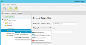 Preview of GeoWorx Sync Version 3 User Interface